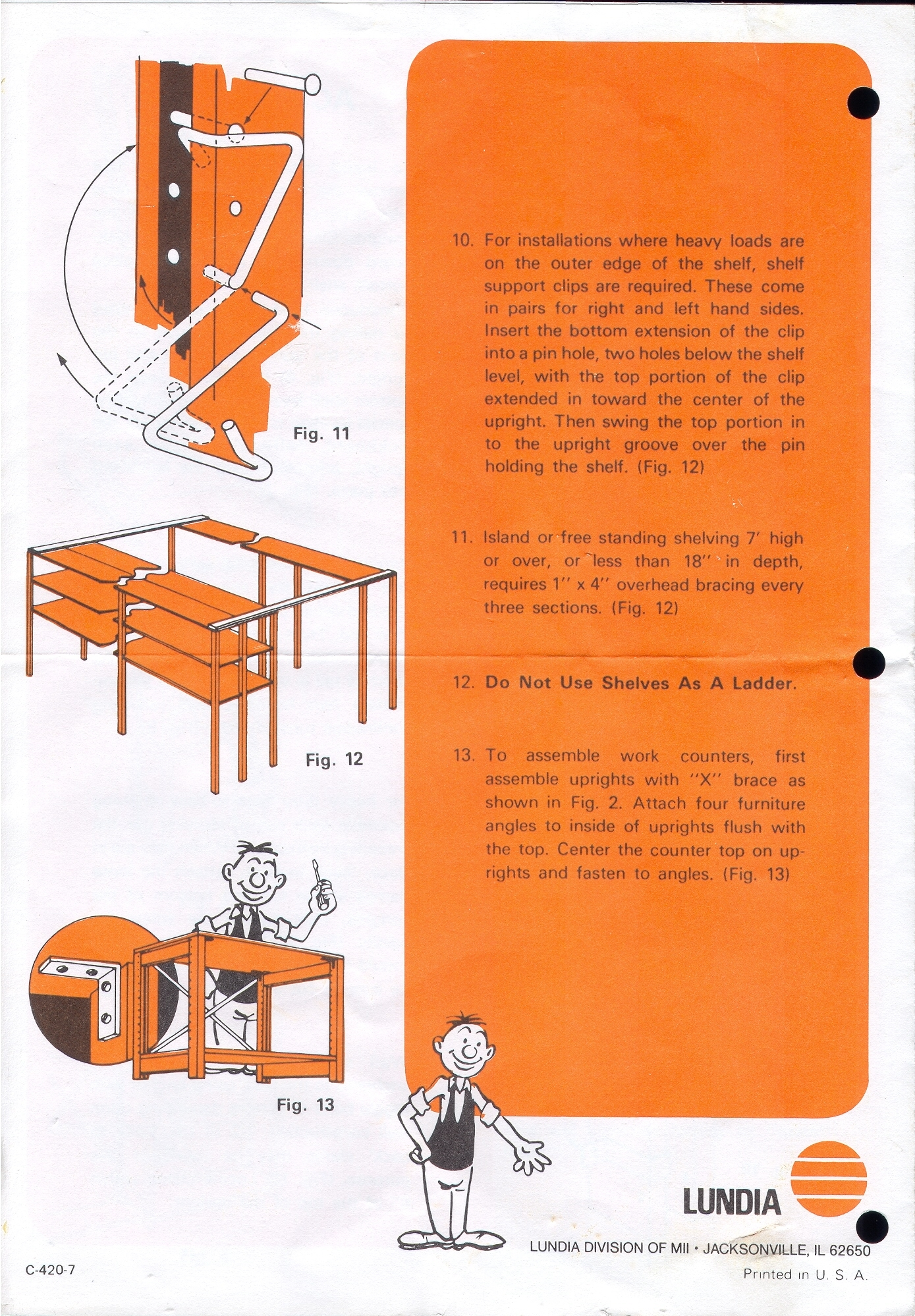 Assembly Instructions Page 4