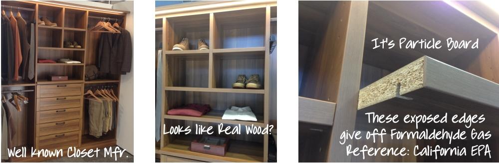Wood Closet Systems Toxic Free