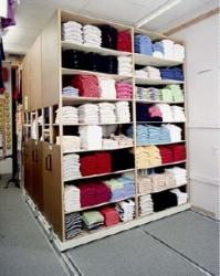 High Density Stockroom Shelving