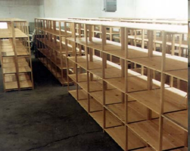 wood stockrooms provide more flexibility than metal wood material can be cut modified and secured unlike metal systems lundia wood stockroom shelving has